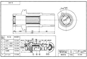 付図3 (工作)工程図の参考図