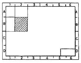 (図面の)区域